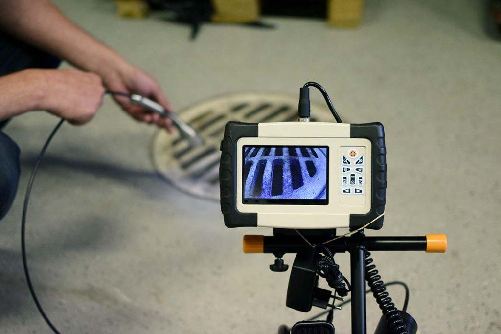 Inspection par caméra à Plombier Lachine, QC
